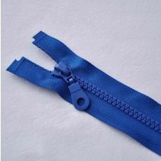 Reißverschluß teilbar 60 cm royalblau