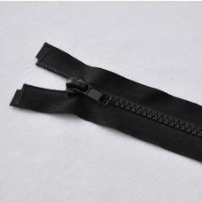 Reißverschluß teilbar 45 cm schwarz