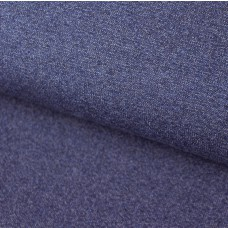 Sommersweat melange Jeansblau