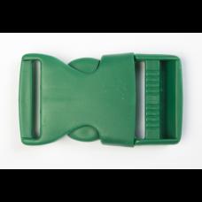 Steckschnalle 25 mm grün