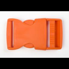 Steckschnalle 25 mm orange