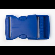 Steckschnalle 25 mm royalblau