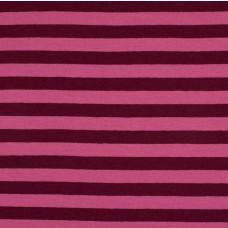 Streifen beere-rosa Stretchjersey