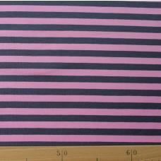 Streifen rosa-grau Stretchjersey