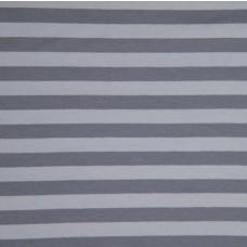 Streifen grau Stretchjersey