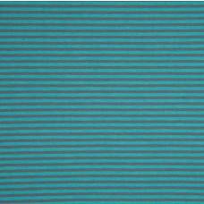Ringel türkis-grau Stretchjersey