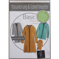 Basic Strickmantel Damen