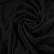 Strickstoff schwarz
