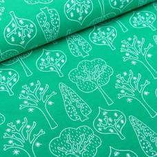 Tidöblomma Jersey Trollskog green