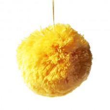 PomPom gelb Bio-Baumwolle