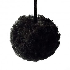 PomPom schwarz Bio-Baumwolle