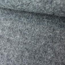 Wollwalk grau meliert