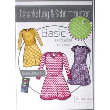 Basic Winterkleid für Mädchen